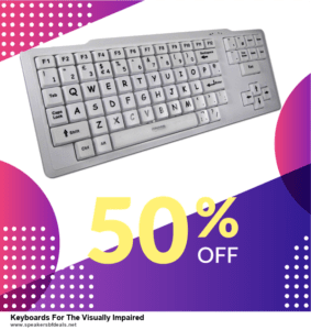 5 Best Keyboards For The Visually Impaired Black Friday 2020 and Cyber Monday Deals & Sales