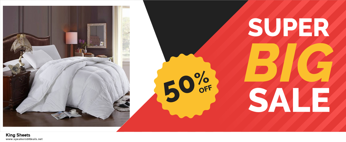 9 Best Black Friday and Cyber Monday King Sheets Deals 2020 [Up to 40% OFF]