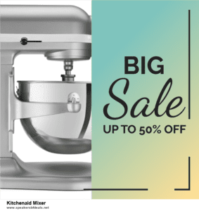 7 Best Kitchenaid Mixer After Christmas Deals [Up to 30% Discount]