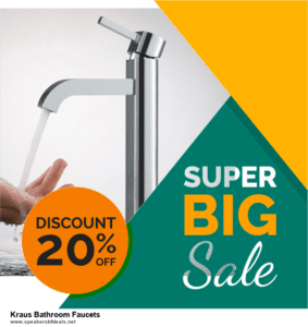 Grab 10 Best Black Friday and Cyber Monday Kraus Bathroom Faucets Deals & Sales