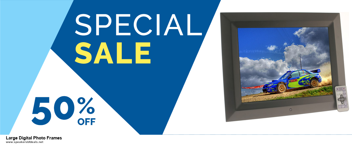 5 Best Large Digital Photo Frames Black Friday 2020 and Cyber Monday Deals & Sales