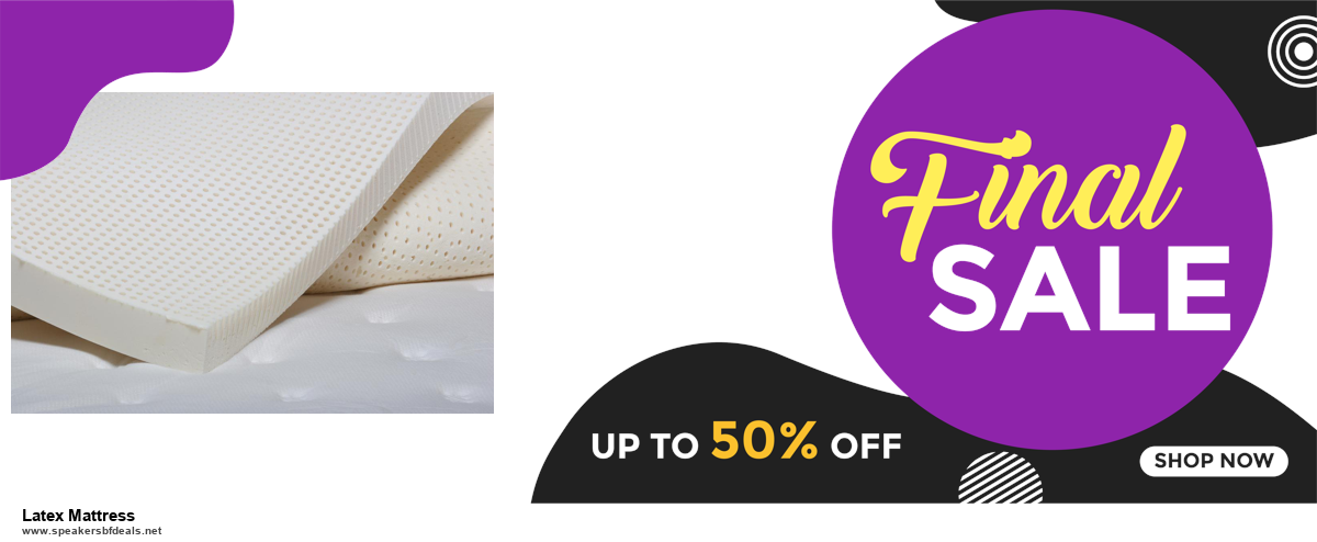 Top 5 Black Friday 2020 and Cyber Monday Latex Mattress Deals [Grab Now]