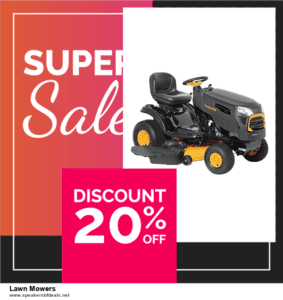 13 Exclusive After Christmas Deals Lawn Mowers Deals 2020