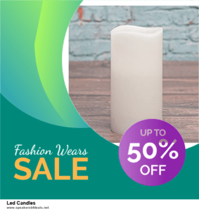 List of 6 Led Candles After Christmas DealsDeals [Extra 50% Discount]