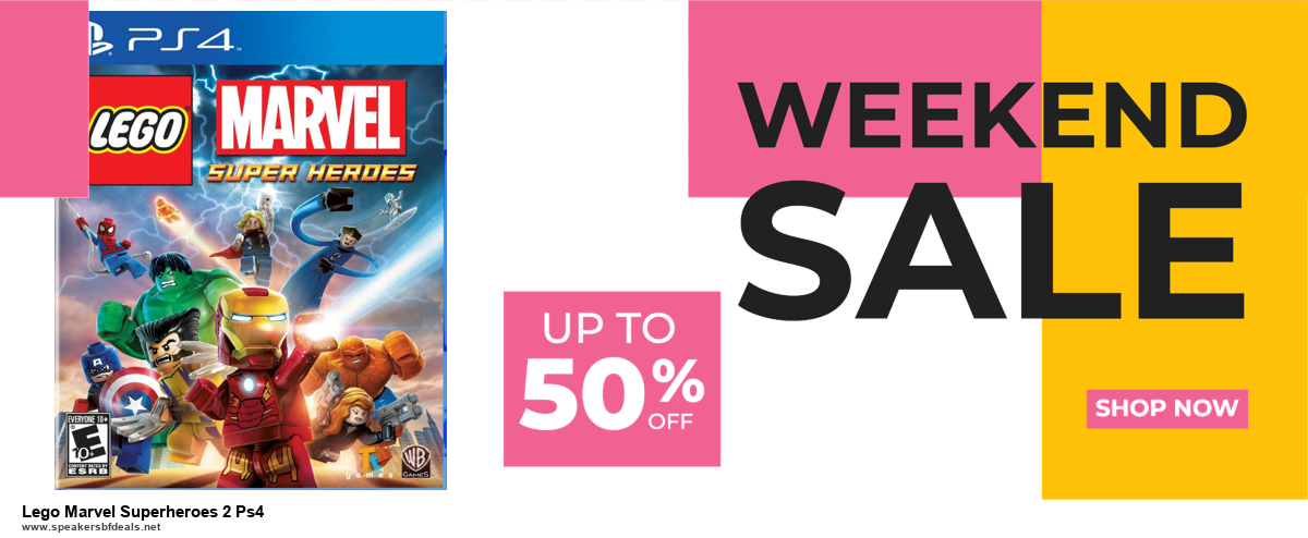 13 Exclusive Black Friday and Cyber Monday Lego Marvel Superheroes 2 Ps4 Deals 2020