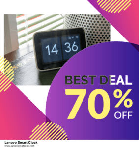 6 Best Lenovo Smart Clock Black Friday 2020 and Cyber Monday Deals | Huge Discount