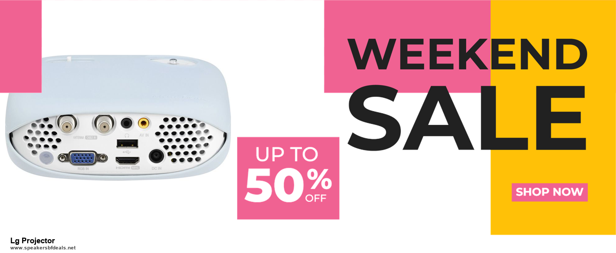 9 Best Black Friday and Cyber Monday Lg Projector Deals 2020 [Up to 40% OFF]