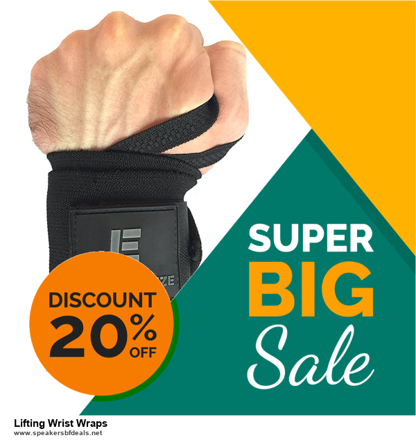 List of 6 Lifting Wrist Wraps Black Friday 2020 and Cyber MondayDeals [Extra 50% Discount]