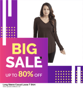 5 Best Long Sleeve Casual Loose T Shirt After Christmas Deals & Sales