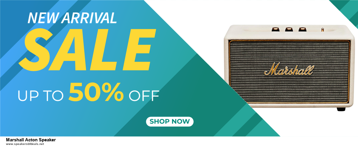 9 Best Marshall Acton Speaker Black Friday 2020 and Cyber Monday Deals Sales