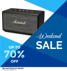 6 Best Marshall Stanmore Speaker Black Friday 2020 and Cyber Monday Deals | Huge Discount