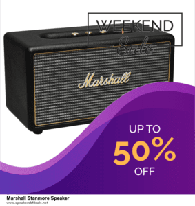 6 Best Marshall Stanmore Speaker After Christmas Deals | Huge Discount