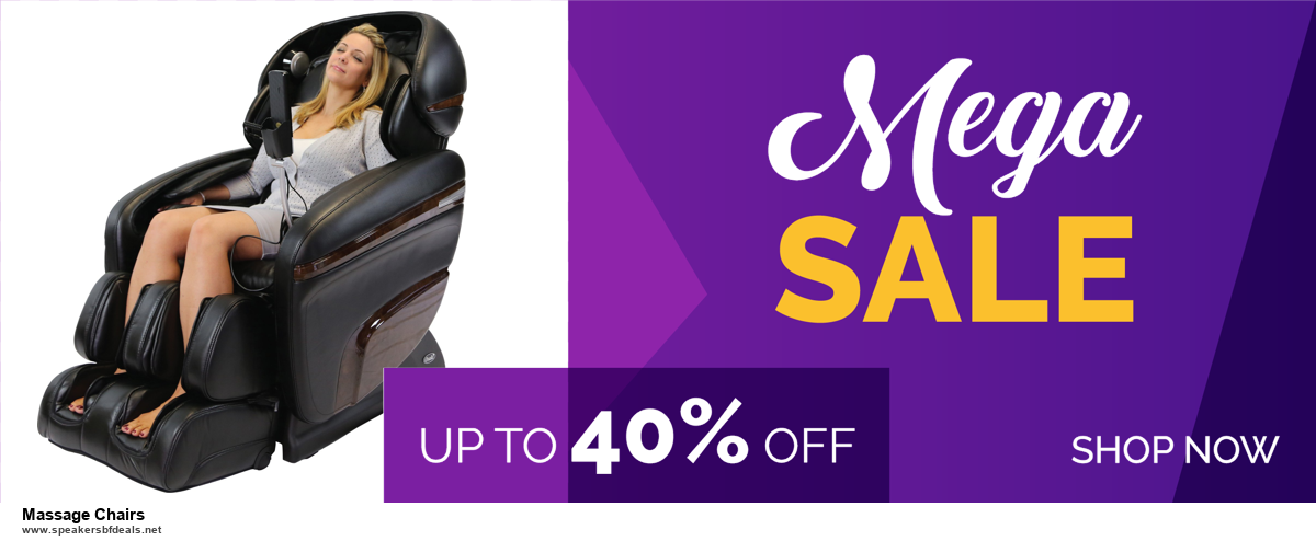 13 Exclusive Black Friday and Cyber Monday Massage Chairs Deals 2020