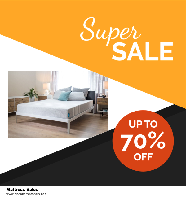 List of 6 Mattress Sales Black Friday 2020 and Cyber MondayDeals [Extra 50% Discount]