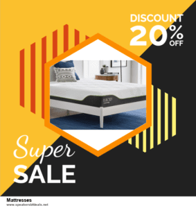 9 Best Black Friday and Cyber Monday Mattresses Deals 2020 [Up to 40% OFF]