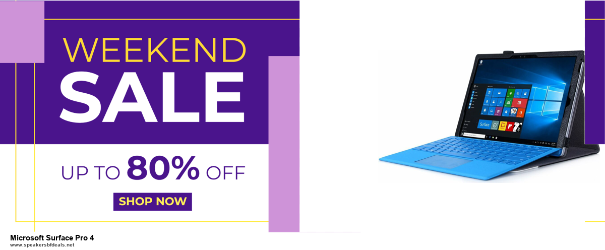 10 Best Black Friday 2020 and Cyber Monday Microsoft Surface Pro 4 Deals | 40% OFF