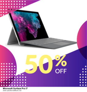 List of 6 Microsoft Surface Pro I7 After Christmas DealsDeals [Extra 50% Discount]