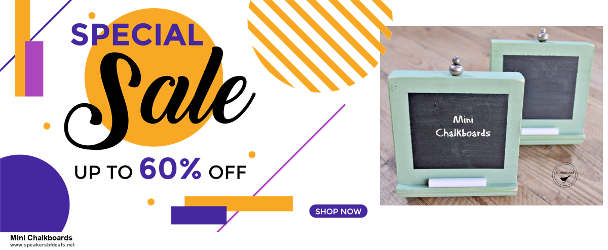 List of 6 Mini Chalkboards Black Friday 2020 and Cyber MondayDeals [Extra 50% Discount]