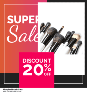 List of 6 Morphe Brush Sets After Christmas DealsDeals [Extra 50% Discount]