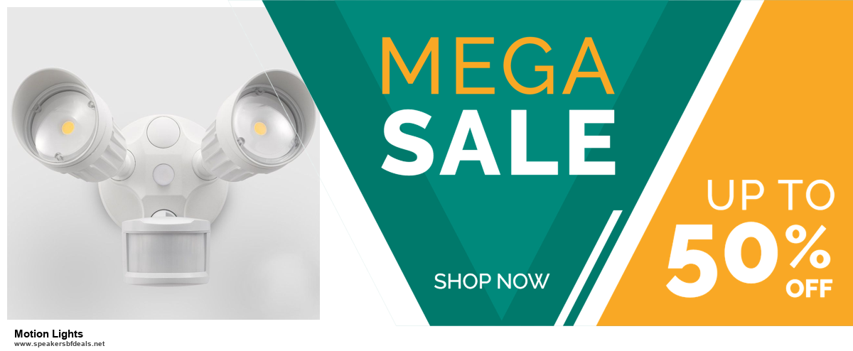 7 Best Motion Lights Black Friday 2020 and Cyber Monday Deals [Up to 30% Discount]