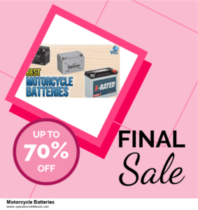 List of 6 Motorcycle Batteries After Christmas DealsDeals [Extra 50% Discount]