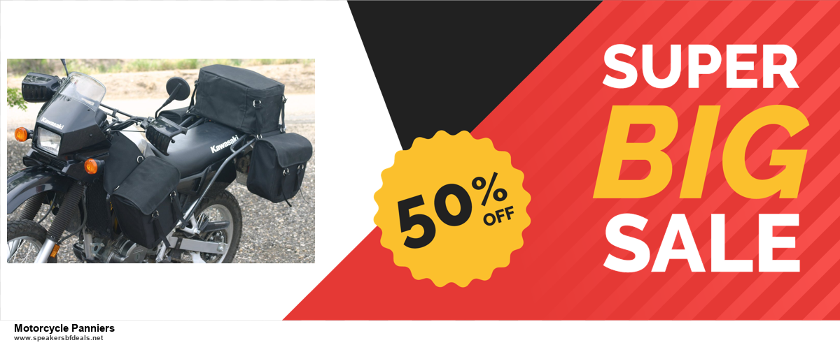 7 Best Motorcycle Panniers Black Friday 2020 and Cyber Monday Deals [Up to 30% Discount]