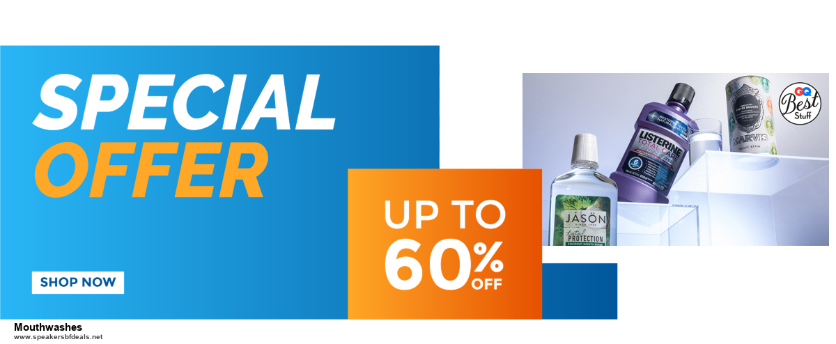 6 Best Mouthwashes Black Friday 2020 and Cyber Monday Deals | Huge Discount
