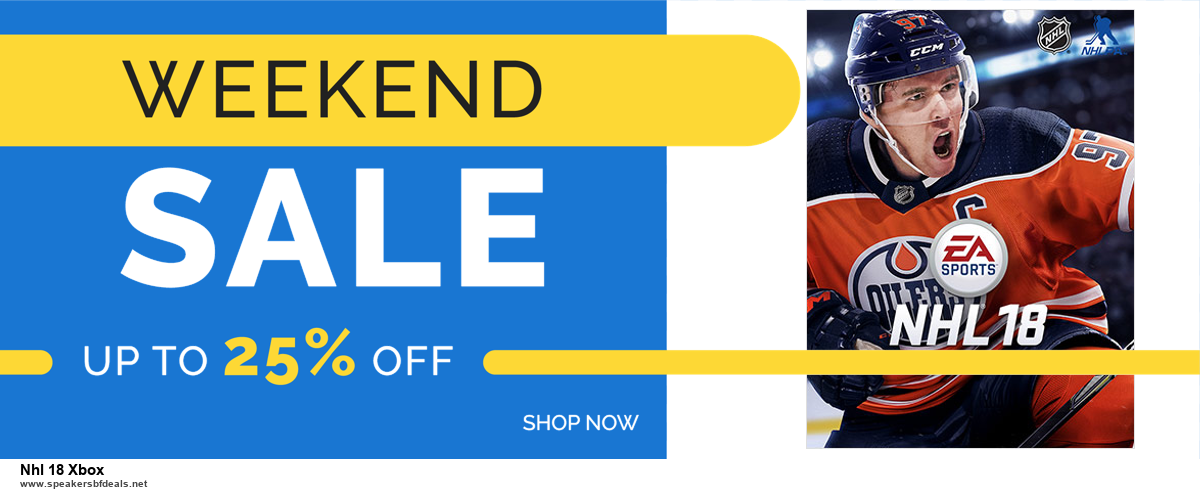 Top 5 Black Friday 2020 and Cyber Monday Nhl 18 Xbox Deals [Grab Now]
