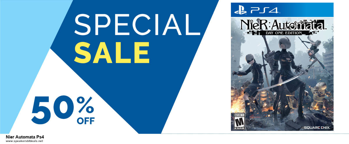 13 Best Black Friday and Cyber Monday 2020 Nier Automata Ps4 Deals [Up to 50% OFF]