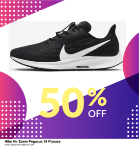 List of 10 Best Black Friday and Cyber Monday Nike Air Zoom Pegasus 36 Flyease Deals 2020