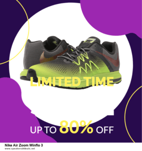 6 Best Nike Air Zoom Winflo 3 Black Friday 2020 and Cyber Monday Deals | Huge Discount