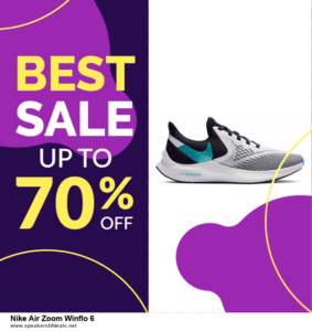 List of 6 Nike Air Zoom Winflo 6 Black Friday 2020 and Cyber MondayDeals [Extra 50% Discount]