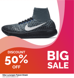 6 Best Nike Lunarepic Flyknit Shield Black Friday 2020 and Cyber Monday Deals | Huge Discount