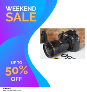 7 Best Nikon D Black Friday 2020 and Cyber Monday Deals [Up to 30% Discount]