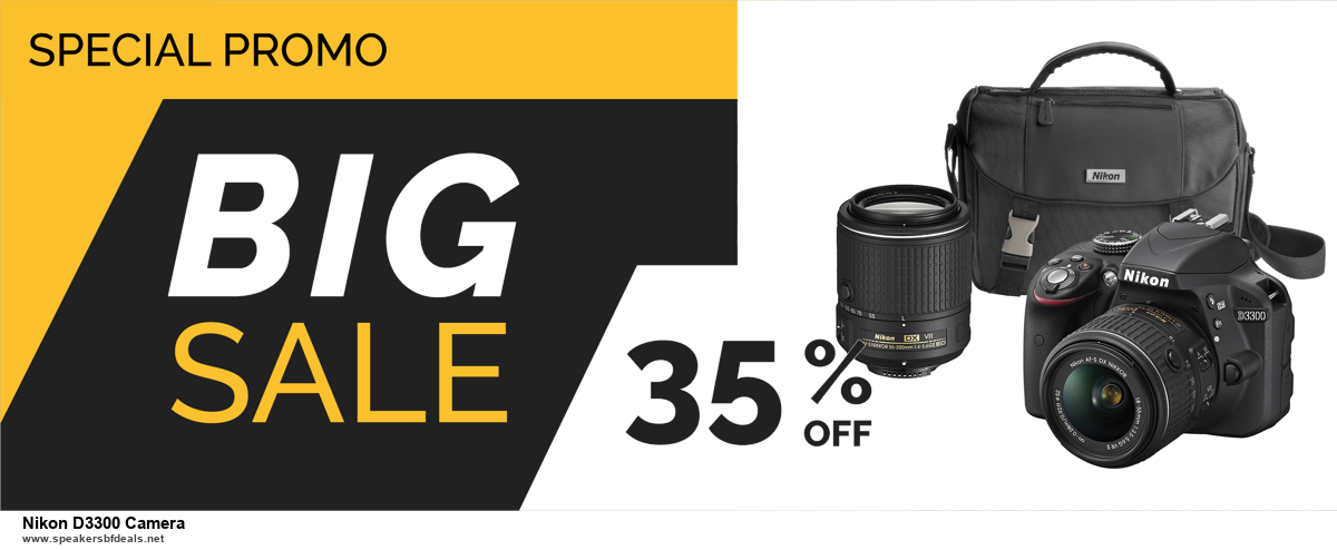 Top 11 Black Friday and Cyber Monday Nikon D3300 Camera 2020 Deals Massive Discount