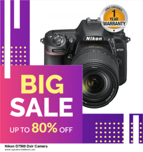 13 Exclusive Black Friday and Cyber Monday Nikon D7500 Dslr Camera Deals 2020