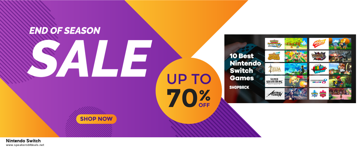 7 Best Nintendo Switch Black Friday 2020 and Cyber Monday Deals [Up to 30% Discount]