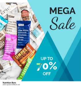 10 Best After Christmas Deals  Nutrition Bars Deals | 40% OFF