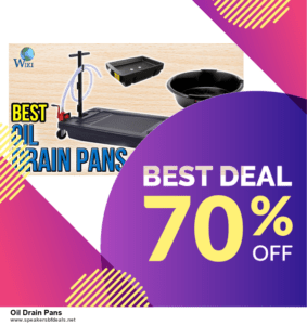 List of 6 Oil Drain Pans After Christmas DealsDeals [Extra 50% Discount]