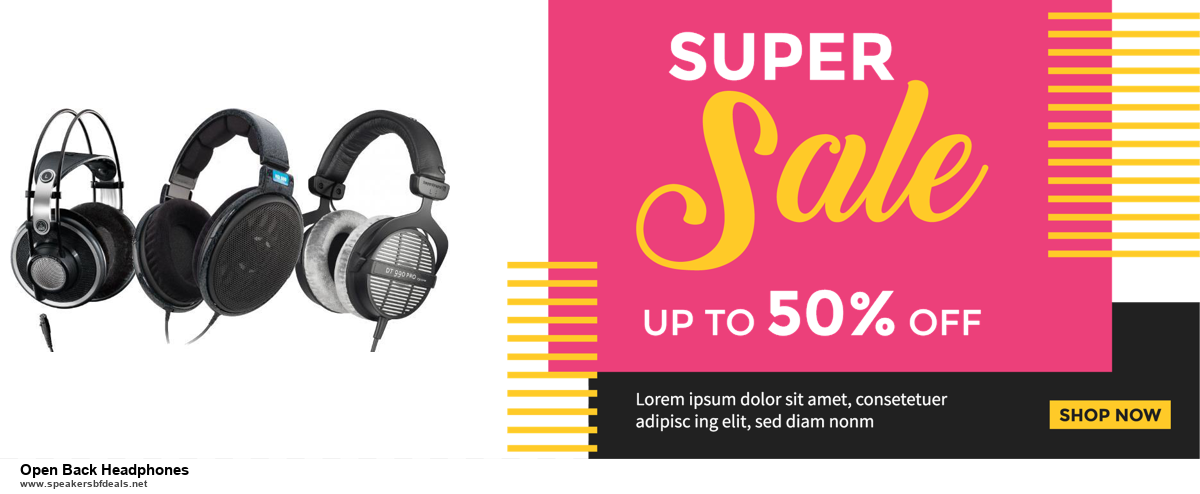 Top 5 Black Friday 2020 and Cyber Monday Open Back Headphones Deals [Grab Now]