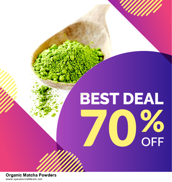 10 Best Black Friday 2020 and Cyber Monday Organic Matcha Powders Deals | 40% OFF