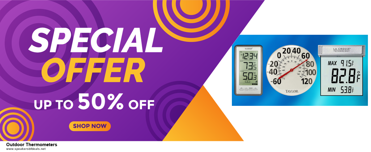 13 Best Black Friday and Cyber Monday 2020 Outdoor Thermometers Deals [Up to 50% OFF]
