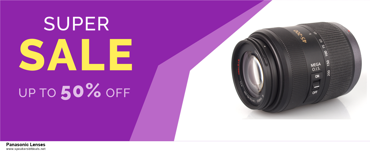 5 Best Panasonic Lenses Black Friday 2020 and Cyber Monday Deals & Sales