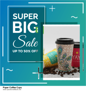 10 Best After Christmas Deals  Paper Coffee Cups Deals | 40% OFF