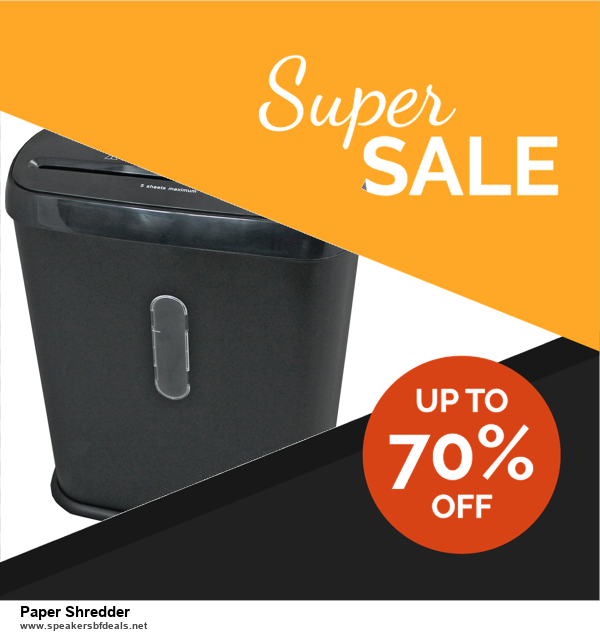 10 Best Paper Shredder Black Friday 2020 and Cyber Monday Deals Discount Coupons