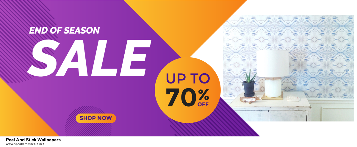 9 Best Black Friday and Cyber Monday Peel And Stick Wallpapers Deals 2020 [Up to 40% OFF]