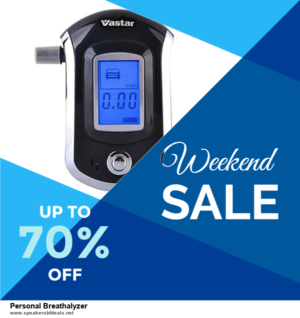 5 Best Personal Breathalyzer Black Friday 2020 and Cyber Monday Deals & Sales