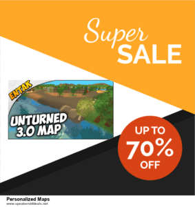 6 Best Personalized Maps After Christmas Deals | Huge Discount