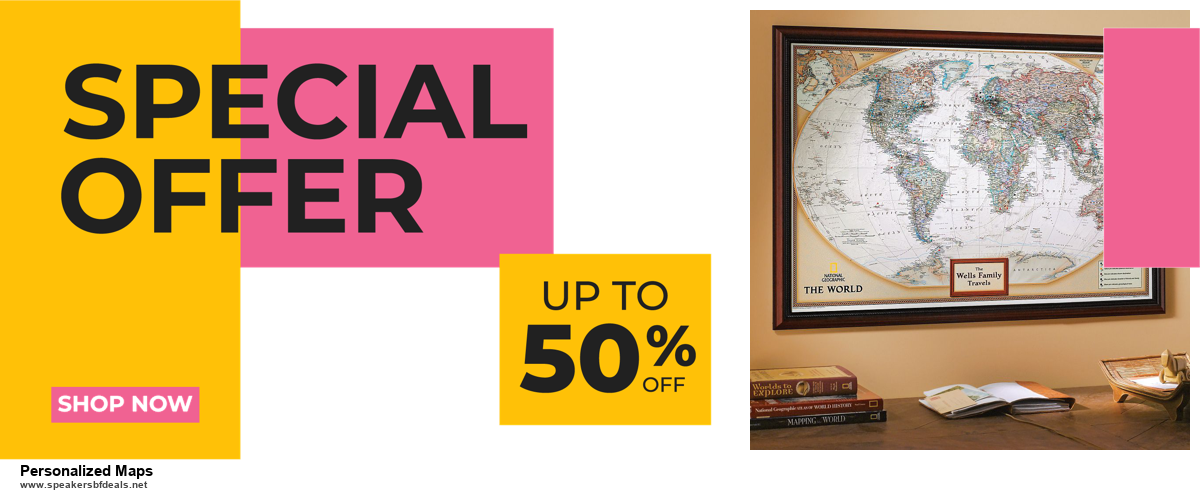 6 Best Personalized Maps Black Friday 2020 and Cyber Monday Deals | Huge Discount