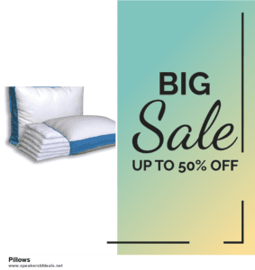6 Best Pillows Black Friday 2020 and Cyber Monday Deals | Huge Discount